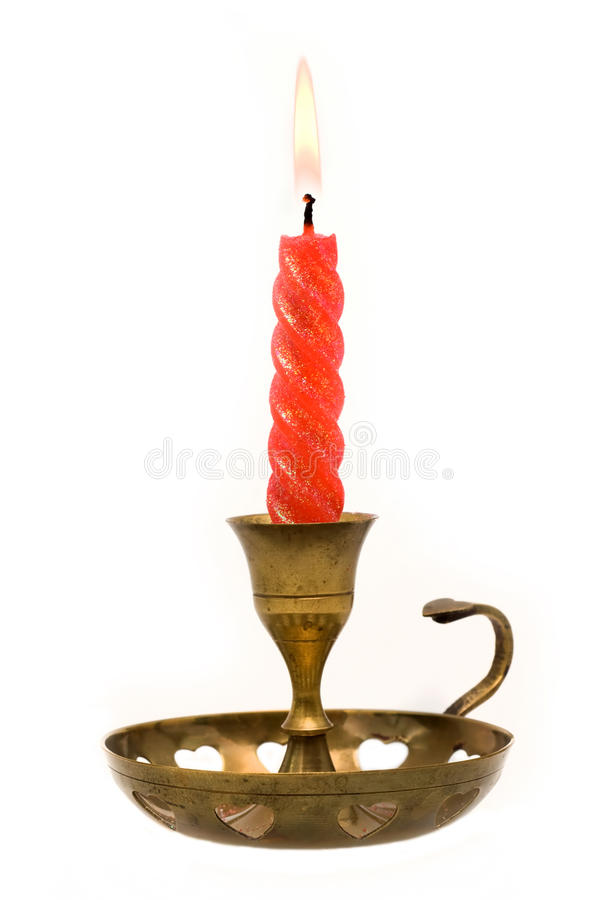 Free Red Candle Royalty Free Stock Photography - 17231757