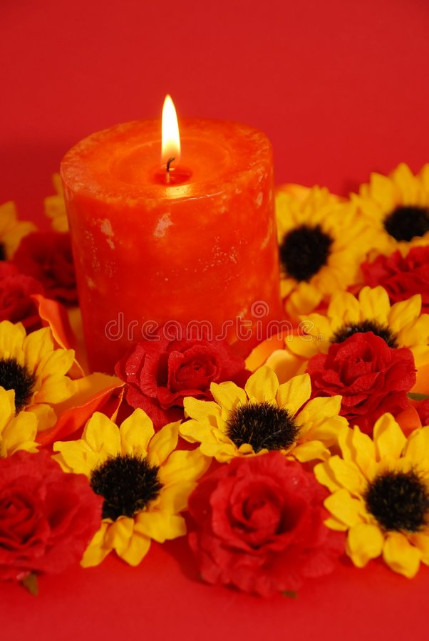 Download Red Candle Stock Photography - Image: 2306642