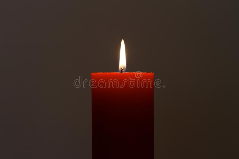 Download Red Candle stock image. Image of fire, light, fiamma - 23540753