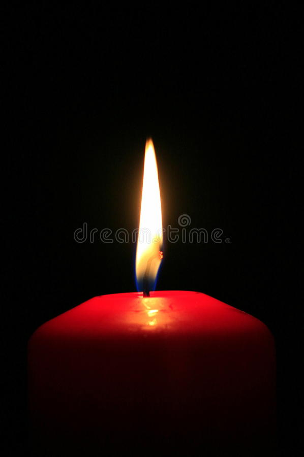 Download Red candle stock image. Image of calmness, flash, brightness - 28896213
