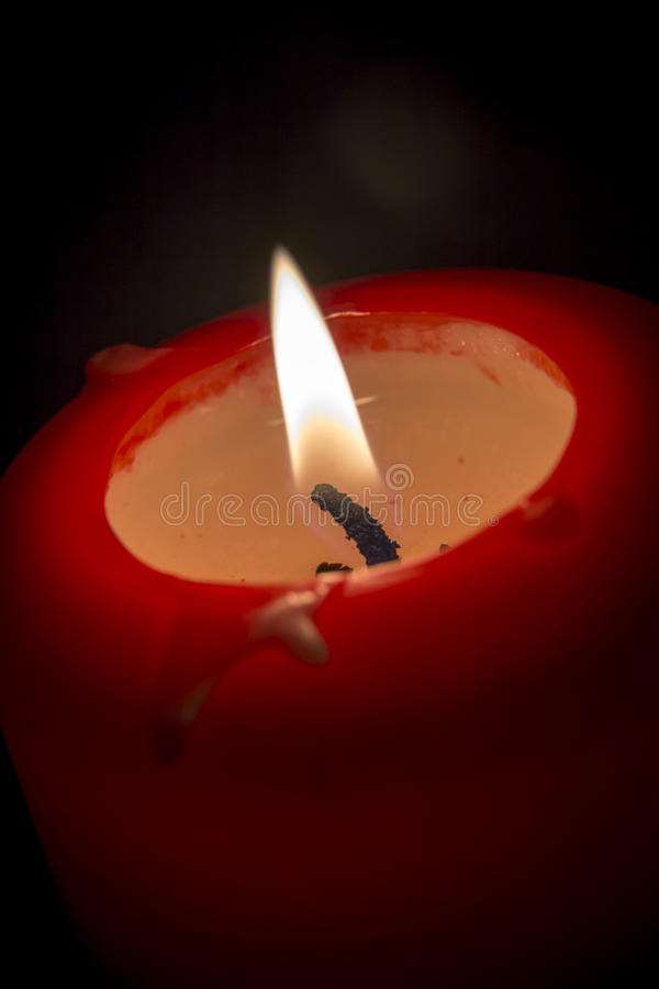 Download Red candle stock photo. Image of fire, burn, light, love - 39294766