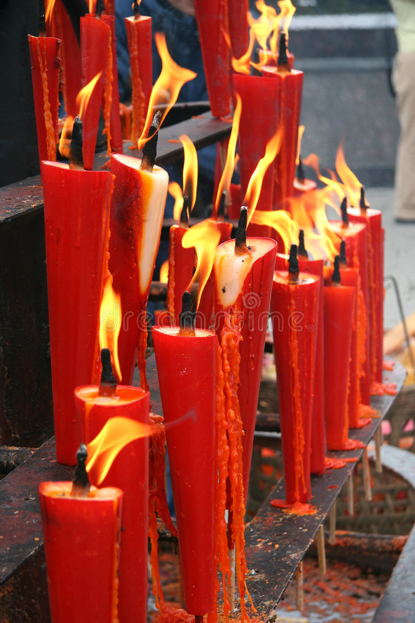 Free Red Candles Stock Image - 3809731