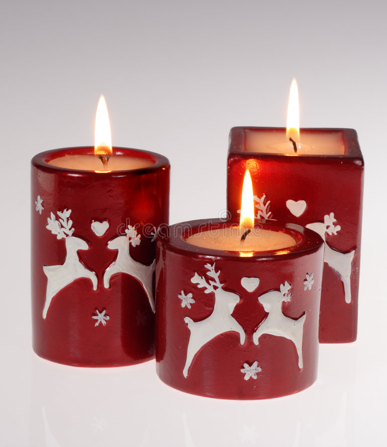 Free Red Candles Royalty Free Stock Image - 6723226