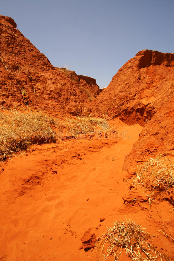 Download Red  Canyon stock photo. Image of blue, asia, sand, vietnam - 18777008