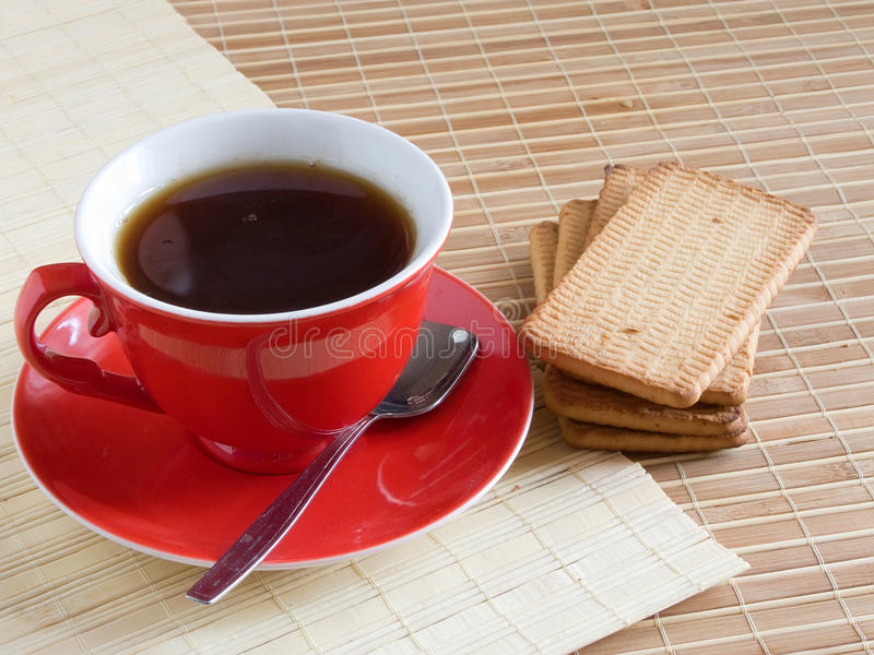 Download Red cap of tea stock image. Image of party, brown, drink - 10507875