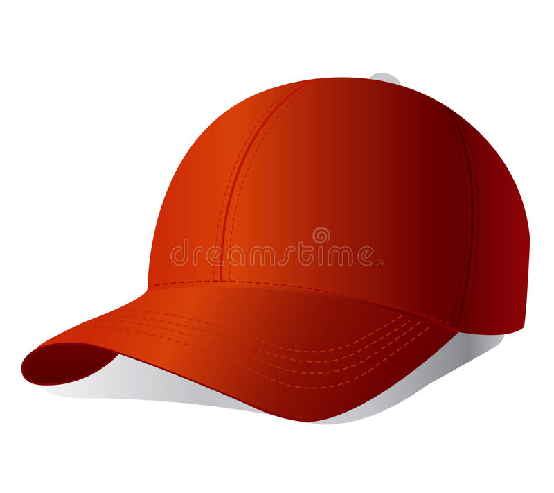 Download Red cap. Vector. stock vector. Illustration of illustration - 19160782