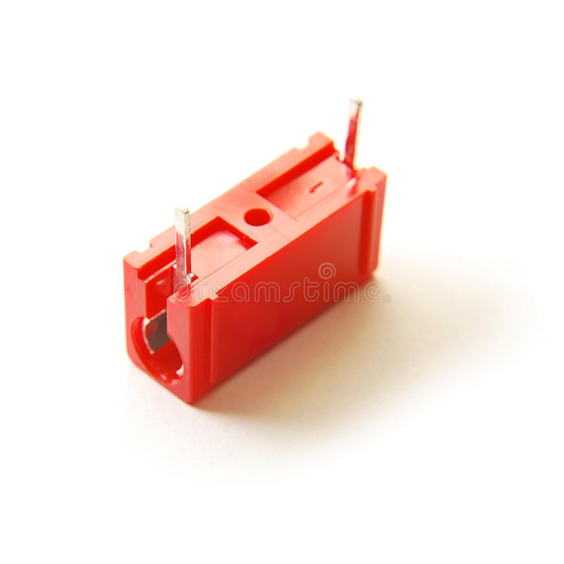 Download Red capacitor stock photo. Image of storage, farad, electricity - 14557942