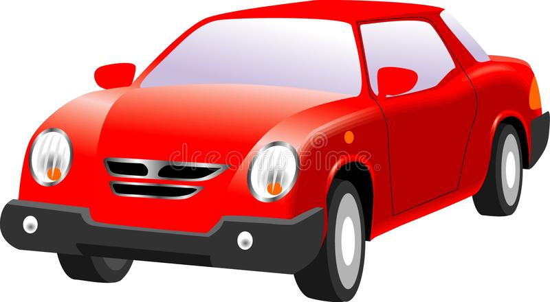 Red car royalty free stock photo