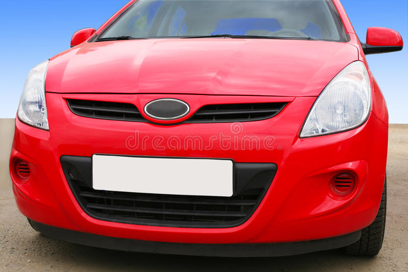 Download Red car stock image. Image of detail, concept, metal - 25669519