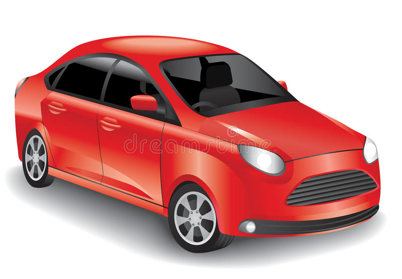 Download Red Car Royalty Free Stock Image - Image: 26546296