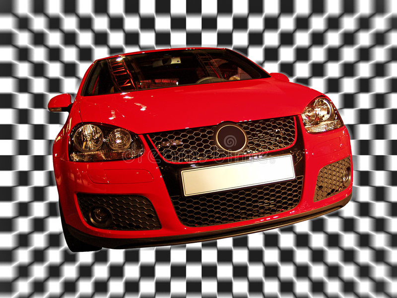 Red car royalty free stock images