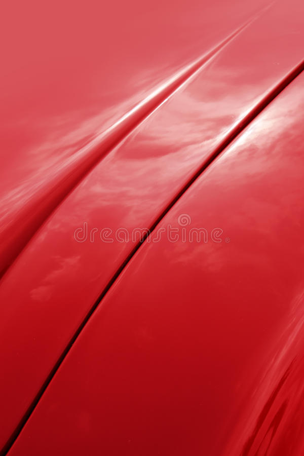 Download Red car shiny bonnet stock photo. Image of auto, shiny - 24074870