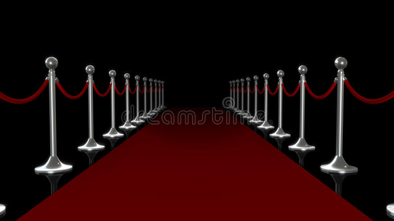 Download Red Carpet stock illustration. Image of stairs, carpet - 13653310