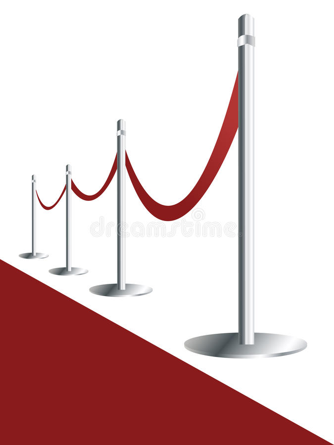 Download Red carpet stock vector. Image of cinema, background - 15988144