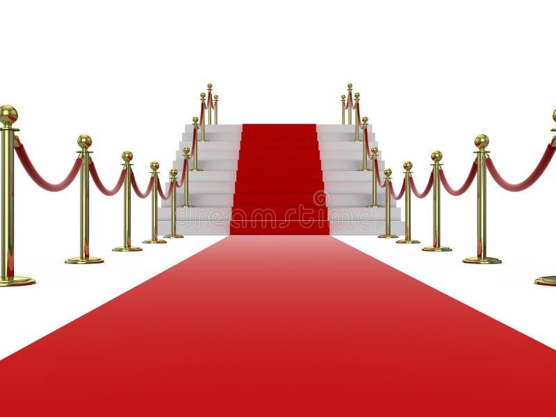 Download Red carpet stock illustration. Image of carpet, star - 21713742