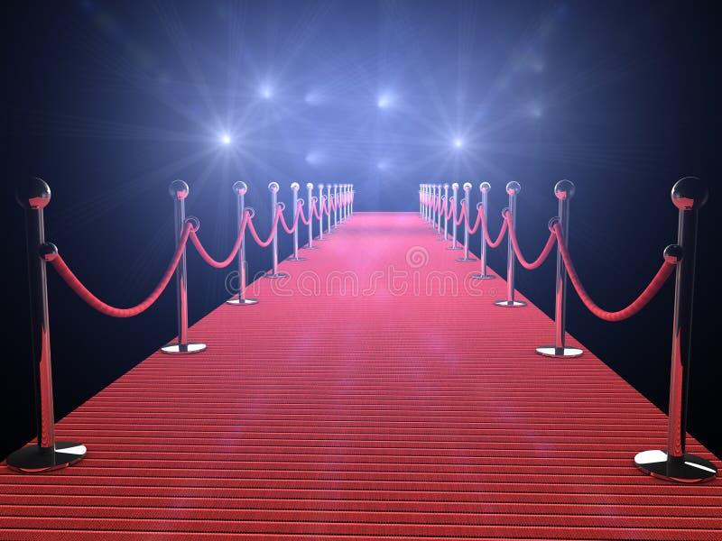 Red Carpet vector illustration