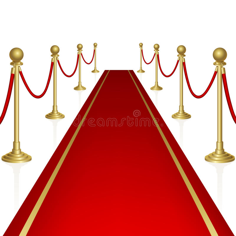 Download Red carpet stock vector. Image of background, gold, awards - 27931651