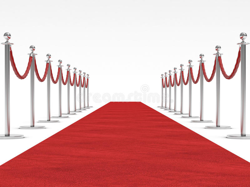 Red carpet stock images