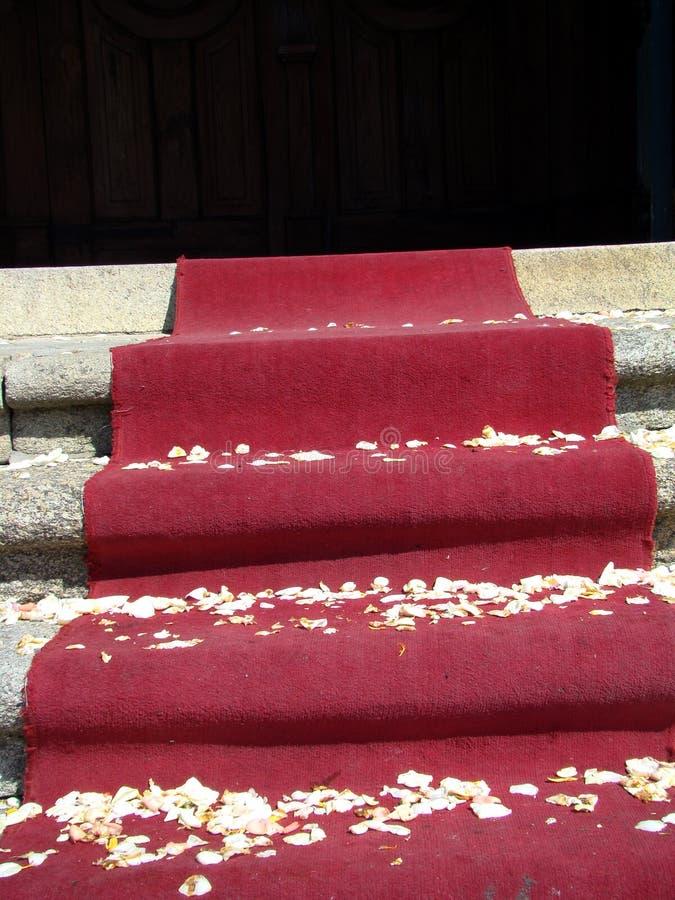 Download Red Carpet - End Of Wedding Stock Image - Image: 4812481