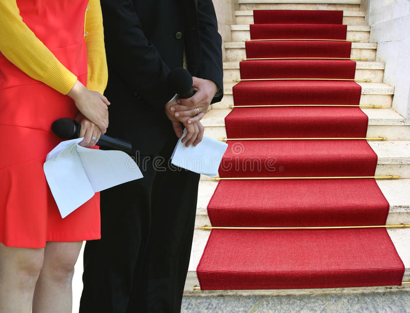 Red Carpet Event Stock Images