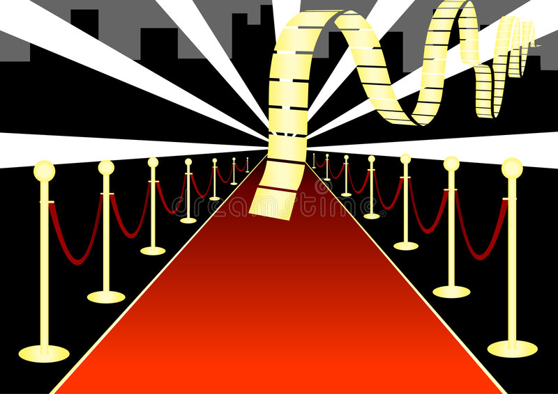 Red Carpet Event royalty free stock images