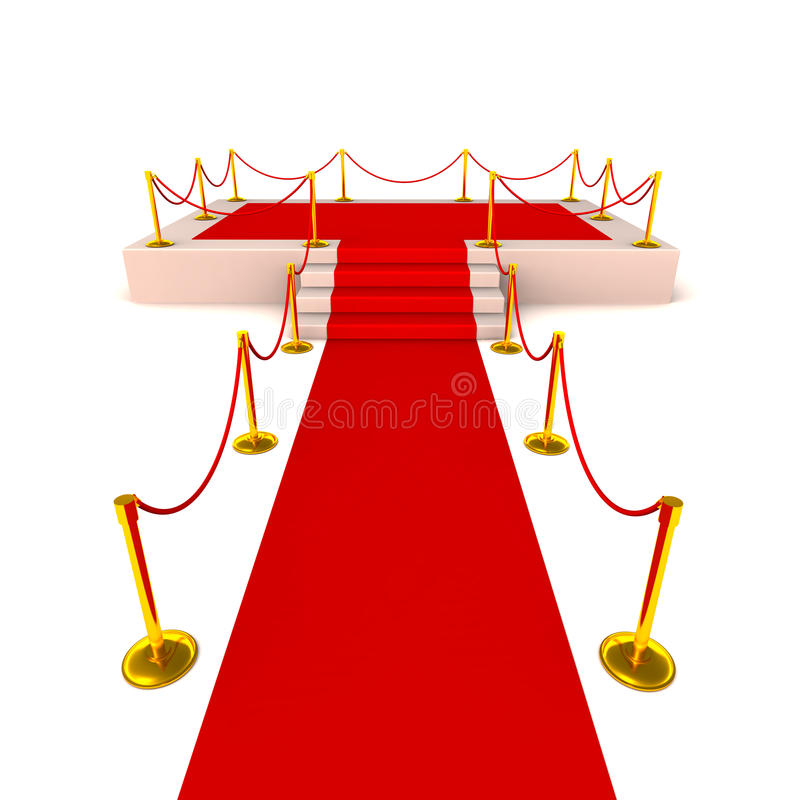 red carpet glory stock illustration illustration of glow 25049162 rh dreamstime com