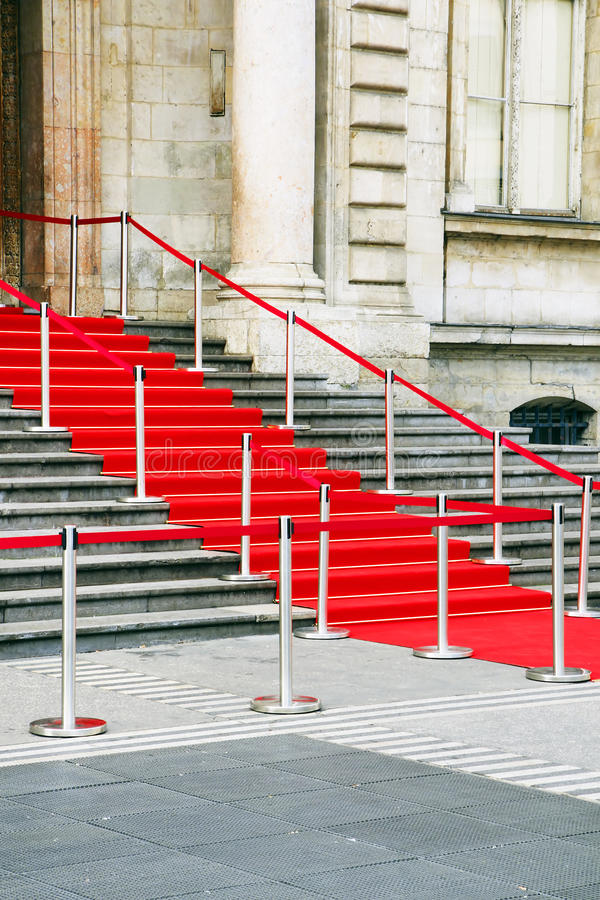 Download Red carpet staircase stock image. Image of beautiful - 23421917