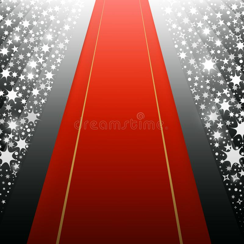Red Carpet Invitation Stock Illustrations 473 Red Carpet