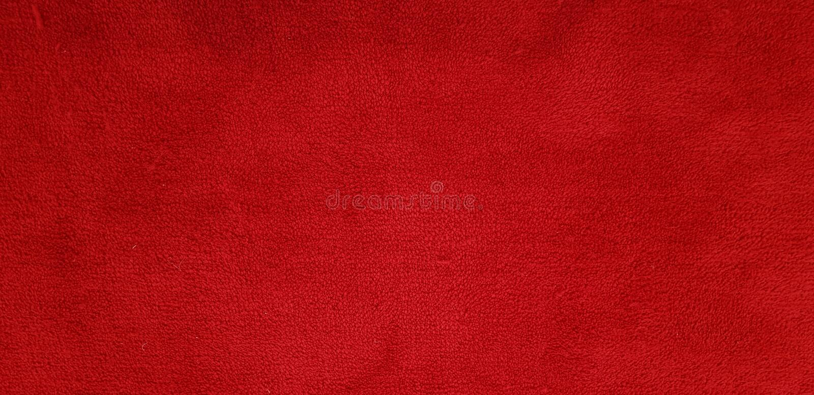 Red carpet texture and background detail stock photography