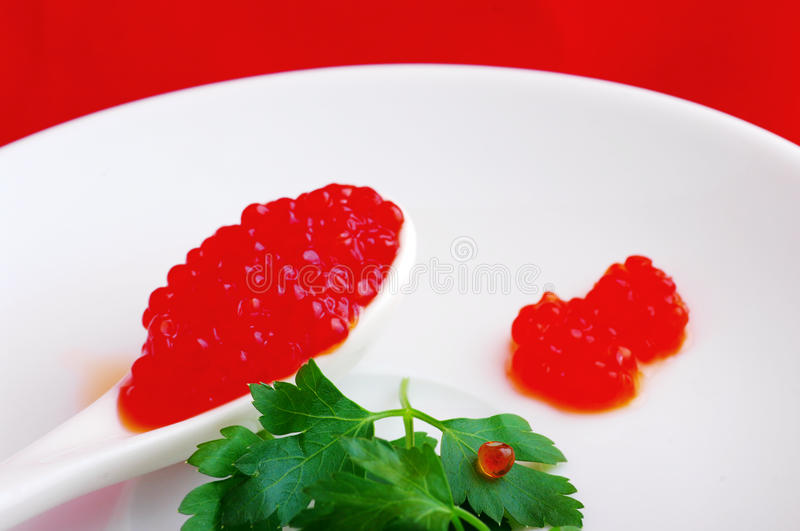 Download Red caviar stock photo. Image of cream, cuisine, catering - 14258946
