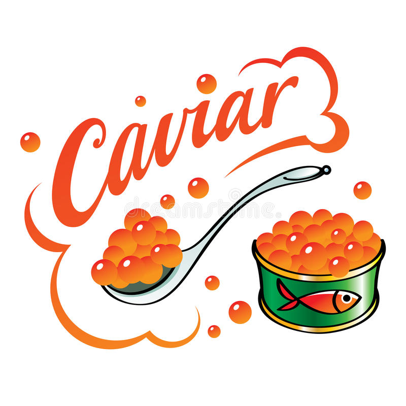 Download Red Caviar stock vector. Illustration of delicacy, embryo - 27717704
