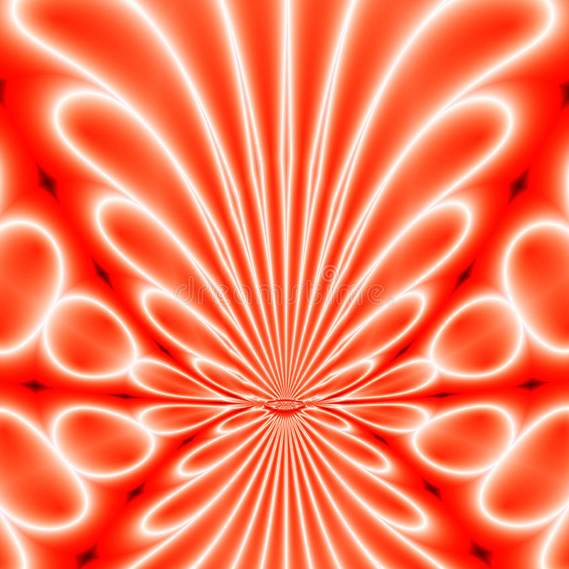 Red cells abstract. Red cells background stock illustration