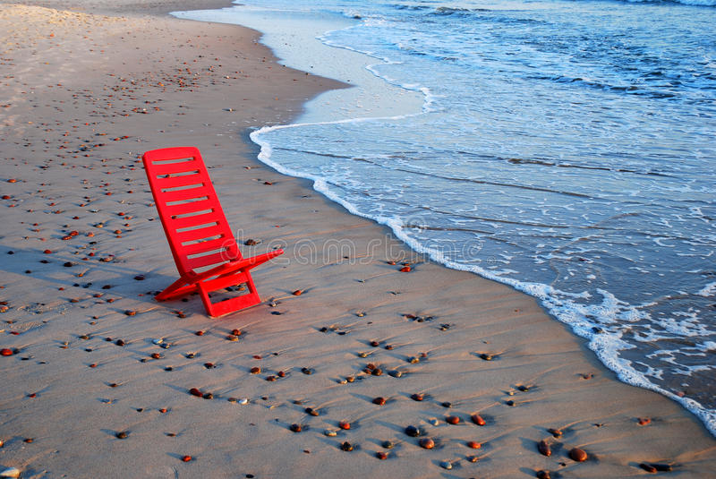 Red chair stock photos