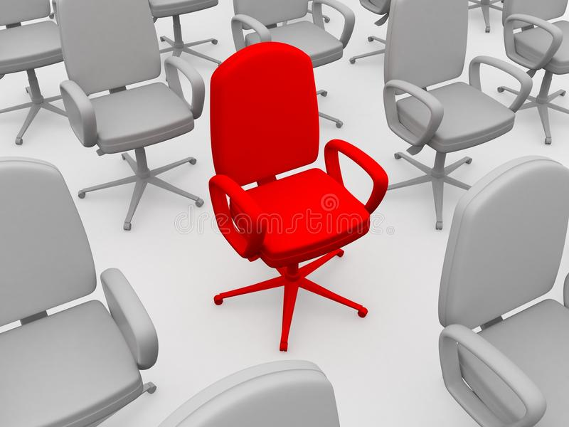 Download Red Chair Stock Photography - Image: 21462612