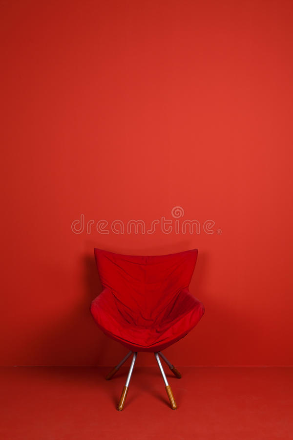 A red chair model