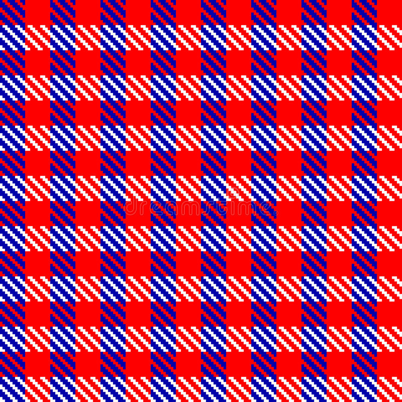 Download Red check fabric stock vector. Image of seamless, chequer - 11797442