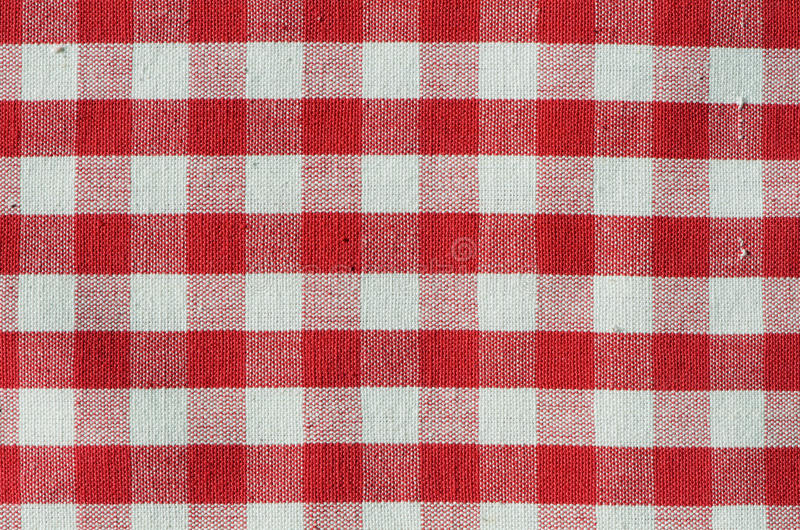 Red Check Fabric Stock Photography Image 24018082