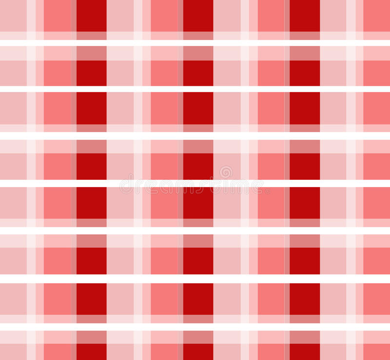 Red checked pattern vector illustration