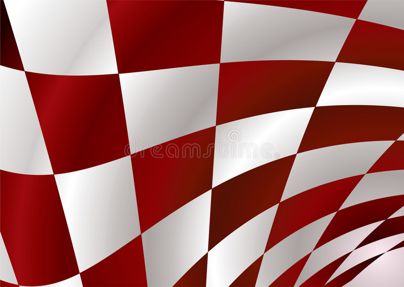 Red checker vector illustration