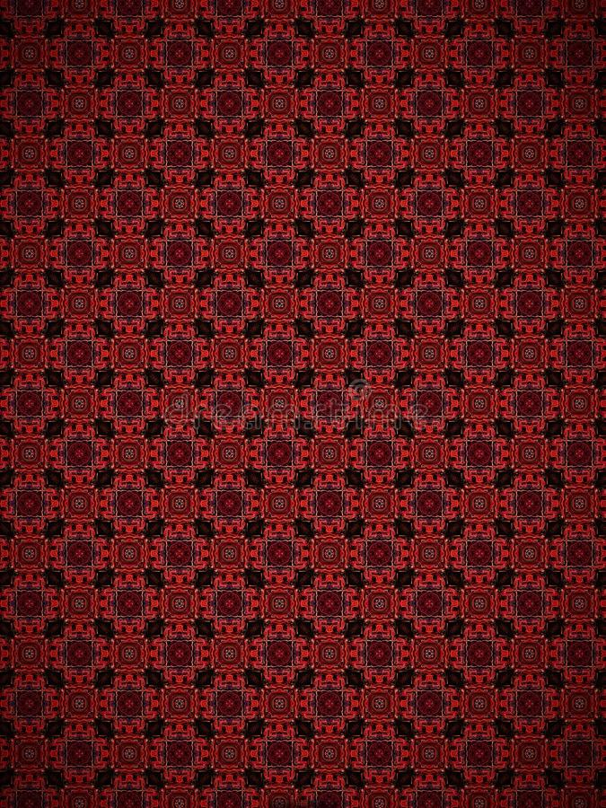 Red checkerboard pattern royalty free stock photography