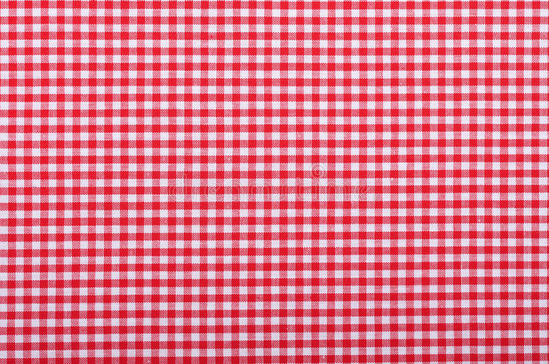 Download Red checkered fabric stock image. Image of gingham, flat - 29169075