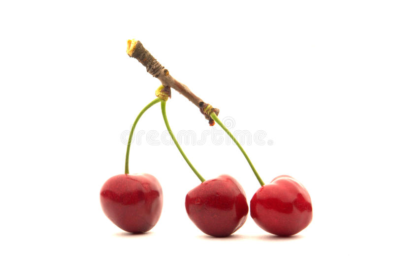 Download Red cherry stock photo. Image of ripe, object, vitamin - 14717738
