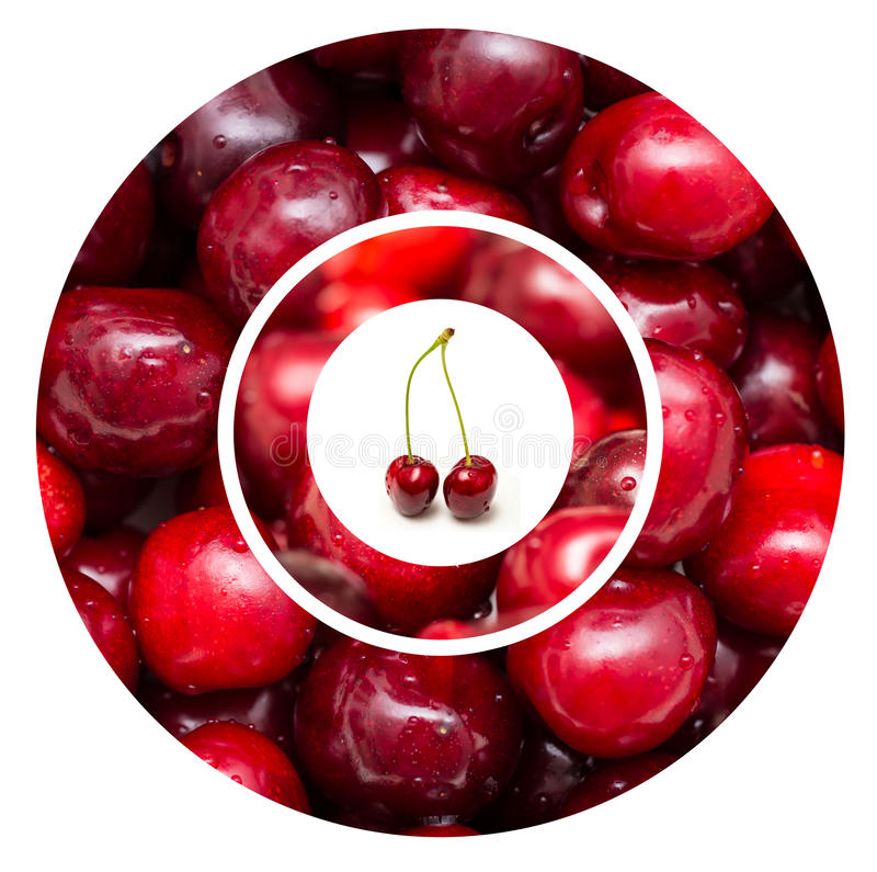 Red Cherry Fruits stock photo