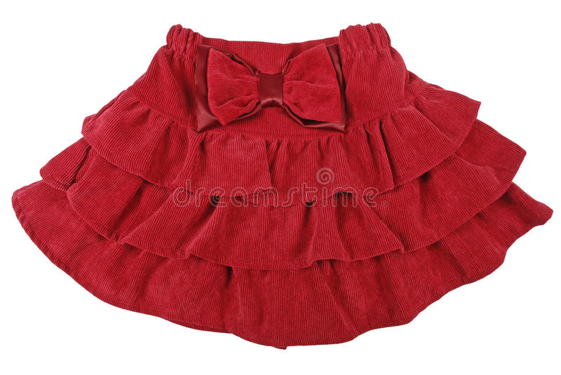Download Red Children Skirt Stock Image - Image: 23905761