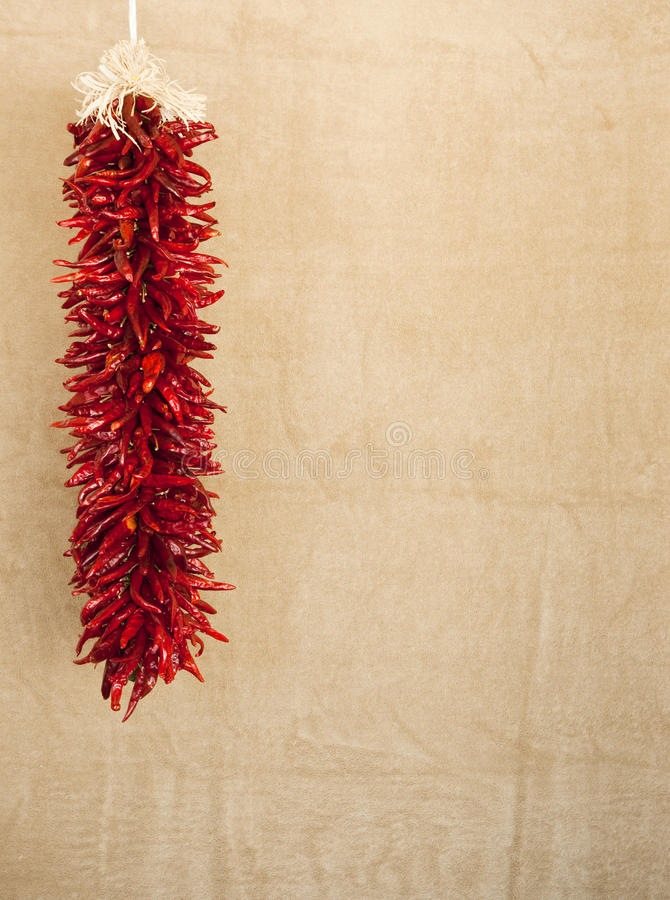 Download Red chile ristras stock photo. Image of brown, background - 11301758