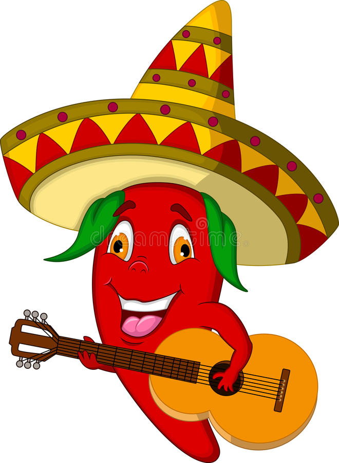 red chili pepper cartoon character with mexican hat and moustache clip art free download mustache clip art free download