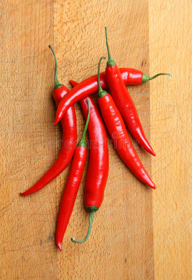 Free Red Chilli Peppers Stock Photography - 17901912