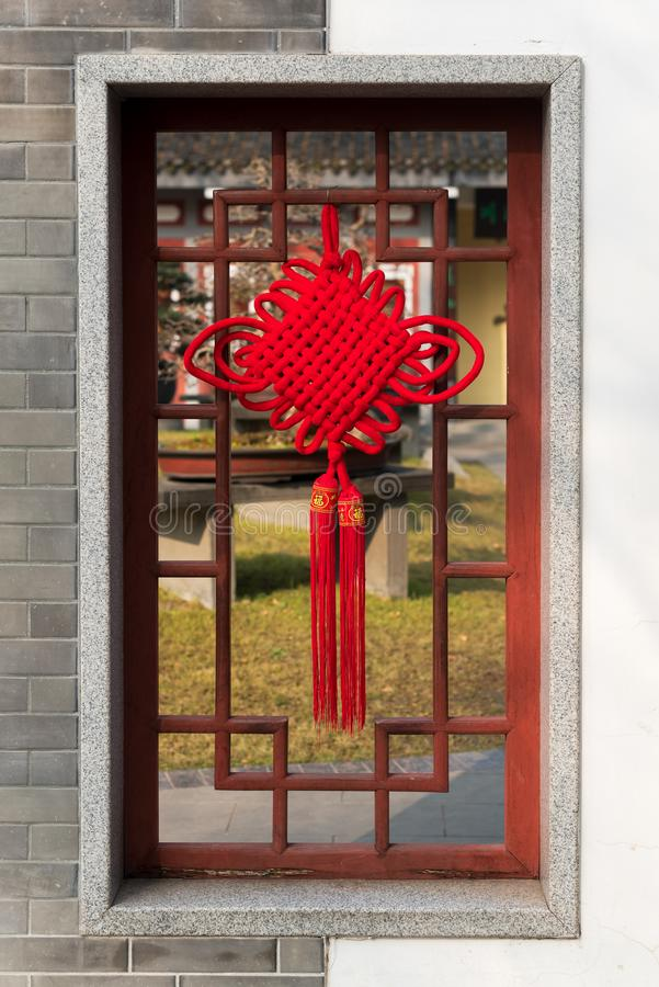 Chinese Ancient Window Decorations Stock Photo - Image of ...