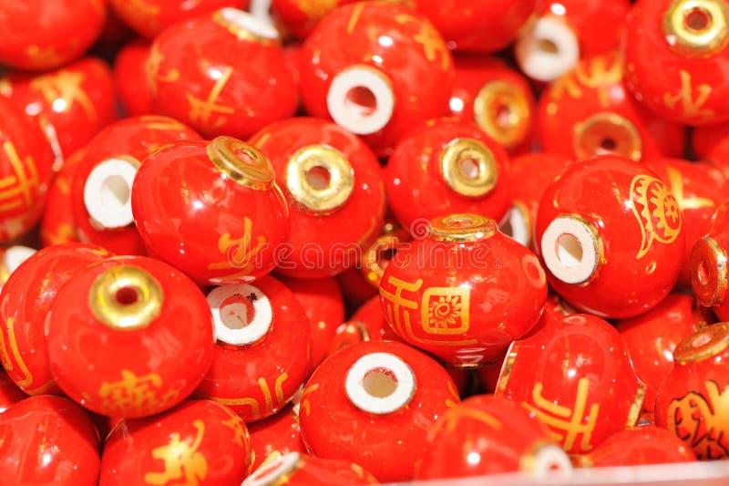 Red chinese lantern backgroumd royalty free stock photo