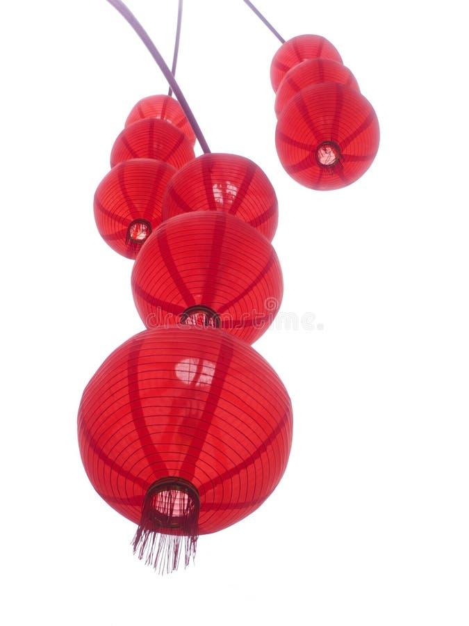 Red Chinese Lanterns. Stock Image